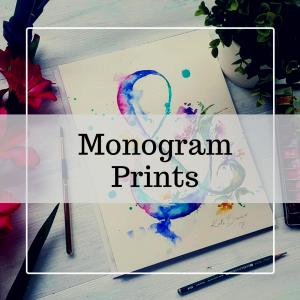 Monogram Prints